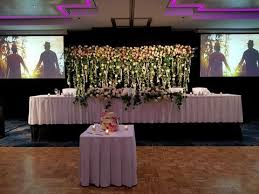 wedding backdrop hire perth for hire wedding flower curtain backdrop flower canopy flower