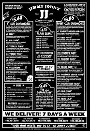 jimmy john u0027s delivery menu with prices lincoln ne provided