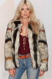 world tour faux fur coat womens winter coats fluffy jackets