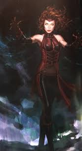 scarlet witch costume comics see how u0027scarlet witch u0027 and u0027ultron u0027 almost looked in avengers
