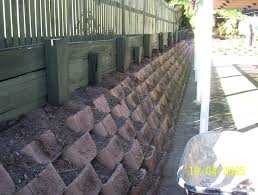 Block Wall Ideas by Astonishing Ideas Cement Block Retaining Wall Pleasing How To