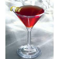 martini rose cambro bwm10cw aliso 10 5 oz customizable plastic martini glass