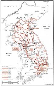 Korean Air Route Map by An Overview Of The Korean War