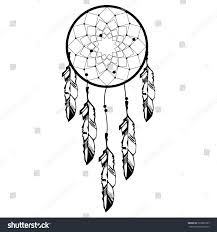 hand drawn native american indian talisman stock vector 522989107
