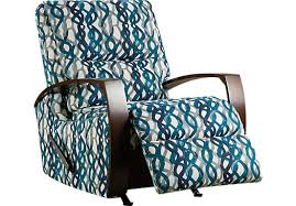 Turquoise Accent Chair 599 99 Basque Turquoise Accent Recliner Reclining