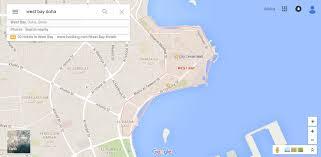 Doha Map Doha E Cube Travel Blog