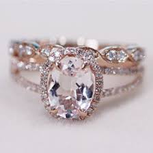 gold and morganite ring morganite gemstone ideas collections