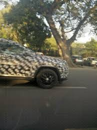 jeep india compass jeep compass spied suv spotted cruising through bengaluru looks