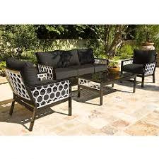 Modern Outdoor Loveseat Outdoor Aluminum Sofa Patio Loveseat Love Seat Modern