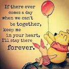 Image result for pooh in heart forever quote