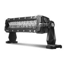 10 inch 50w led light bar spot flood combo 4 200 lumens cree led