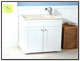 Laundry Room Cabinet With Sink Laundry Cabinet With Sink Upandstunning Club