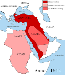 Ottoman Empire In Wwi How The Divided Up The Arab World The Ottoman Empire In