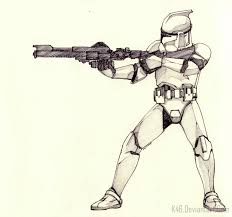 anime clone trooper drawings pictures to pin on pinterest thepinsta