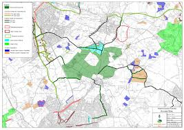 Greenwich England Map by Access Info The Largest New Native Forest In England