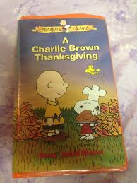 charlie brown thanksgiving dvd a charlie brown thanksgiving vhs 1999 clamshell u2022 3 49 picclick