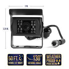 rvs 770614 backup camera system two camera setup rear view