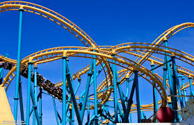 Six Flags Poltergeist Cool Roller Coasters