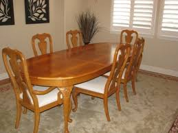 thomasville dining room table and chairs 2888