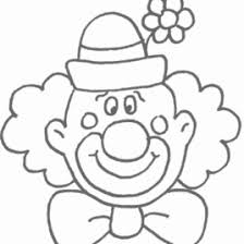 coloring clown face kids drawing coloring pages marisa