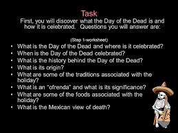 el día de los muertos a webquest ppt