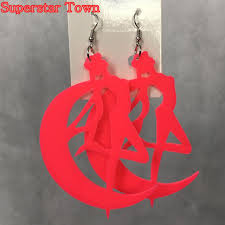 serenity earrings sailor moon tsuking usagi princess serenity