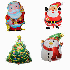 popular santa claus plastic balloon buy cheap santa claus plastic