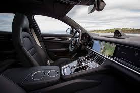 interior porsche panamera 2018 porsche panamera sport turismo drive review motor trend