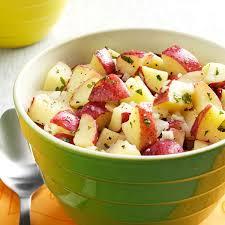 Easy Salad Recipe by Lemon Vinaigrette Potato Salad Recipe Taste Of Home