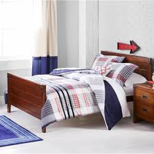 Plaid Bedding Set Navy Plaid Comforter Mainstays Modern Plaid Bed In A Bag Navy
