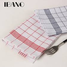 2 pcs ensemble 40x60 cm 100 coton bande serviettes torchon cuisine