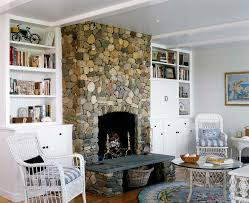 fireplace hearth stone ideas living room beach with andirons