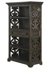 magnussen bellamy dining table magnussen home bellamy open bookcase with intricate scroll details