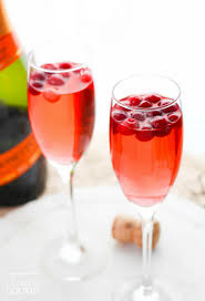 cranberry prosecco punch a cocktail that s for fall