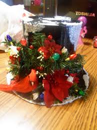 top hat cookie container or table decoration made with