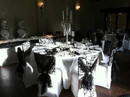 black banquet chair covers woodhall manor wedding chair covers table