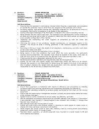 Heavy Equipment Operator Skills Resume Crane Operator Resume Sample Gallery Creawizard Com