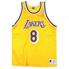 vintage kobe bryant los angeles lakers jersey nwt la nba