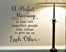 Wall Decal Quotes For Bedroom by Marriage Wall Decal Etsy