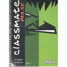 classmates notebook online purchase classmate pulse 6 subject spiral notebook 2100124 unruled 300