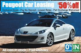 peugeot car lease deals peugeot car leasing is cheaper at time4leasing