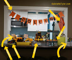 Construction Party Centerpieces by Frugal Construction Party Tour Gabrielle Tyler