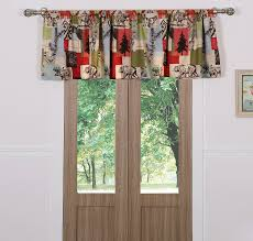 hall window valances with white wall design and small windows