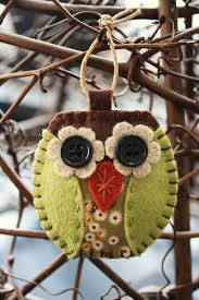 owl decorations tree white decorationsowl