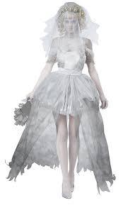 zombie bride spirit halloween amazon com california costumes women u0027s ghostly bride clothing