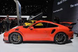 porsche side view 2015 geneva motor show 2016 porsche 911 gt3 rs sssupersports com