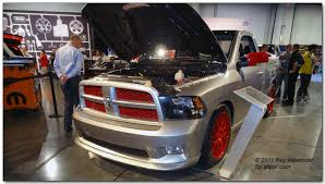 dodge srt8 truck for sale chrysler dodge ram jeep and fiat at the 2011 sema