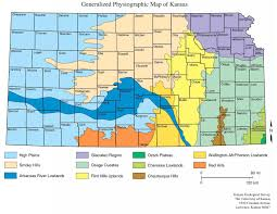 Map Of Kansas City Mo Ecoregions Kansas Native Plant Society