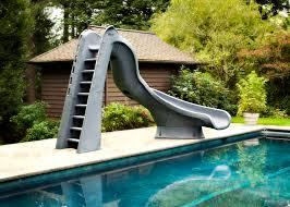 turbotwister right hand turn inground pool slide pool supplies