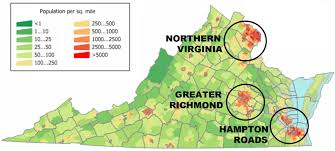 Richmond Virginia Map by Virginia U0027s 2013 Election A Geographic Perspective The Nova
